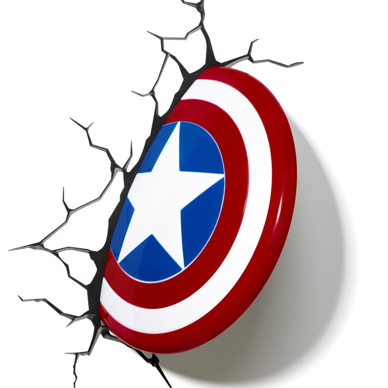 Captain America 3D Shield Wall Light.