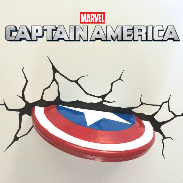 Captain America Shield Wall Decoration.