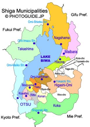 Shiga Prefecture.