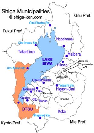 Otsu, Shiga.