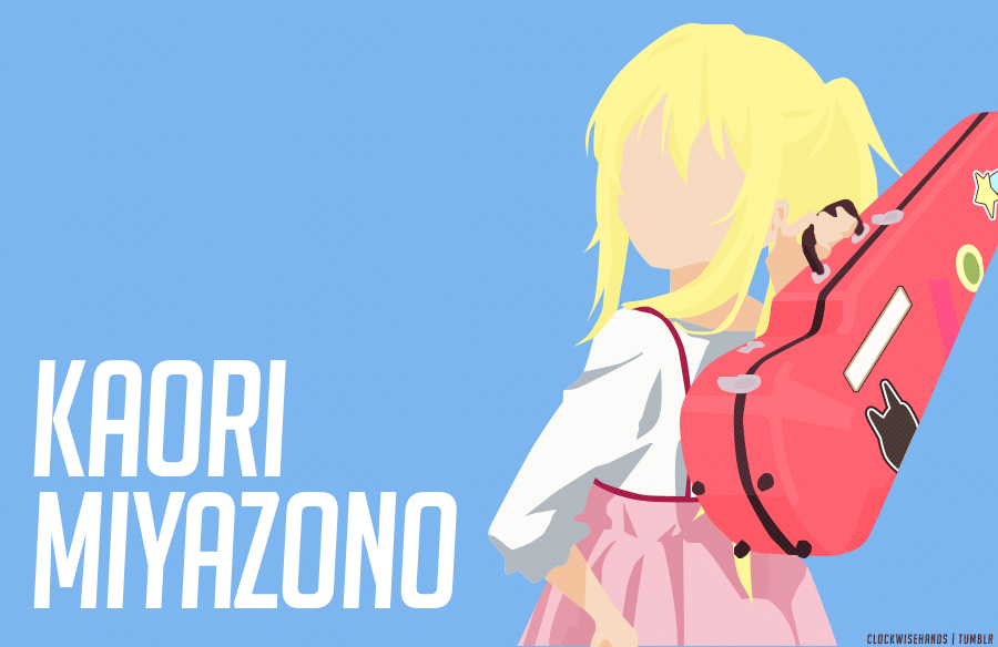 Kaori Miyazono (Shigatsu wa Kimi no Uso) Vector by clockwisehands.