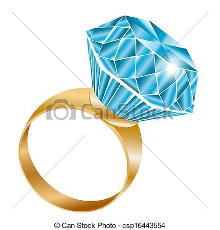 Vector illustration diamond crystal shiny jewellery Illustrations.
