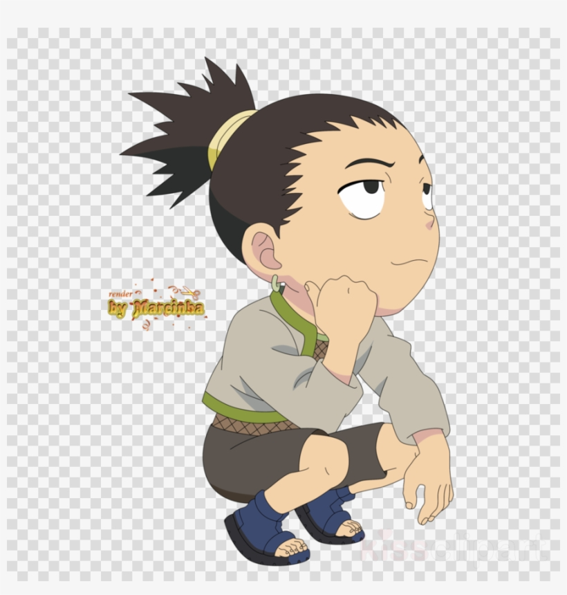 Shikamaru Chibi Clipart Shikamaru Nara Sasuke Uchiha.
