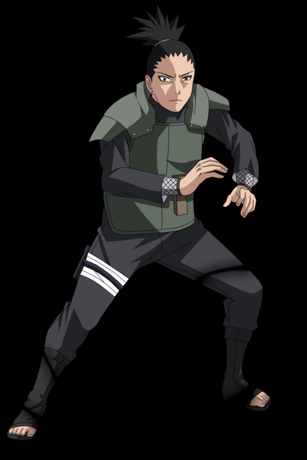 Shikamaru Nara from Naruto.