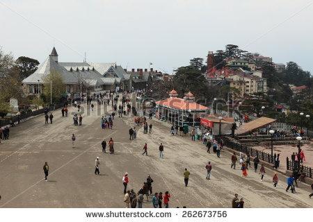 Shimla Stock Photos, Royalty.