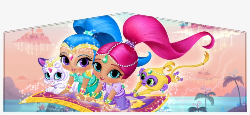 Home / Medium Jumping Castle Themes / Shimmer And Shine.