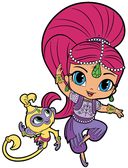 Shimmer and Shine Clipart Images. in 2019.