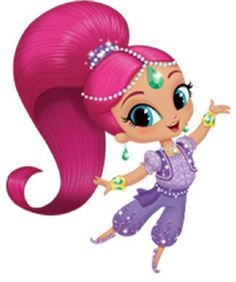 Shimmer And Shine Clipart. in 2019.