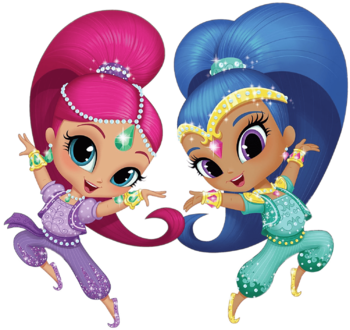 Shimmer and Shine / Characters.