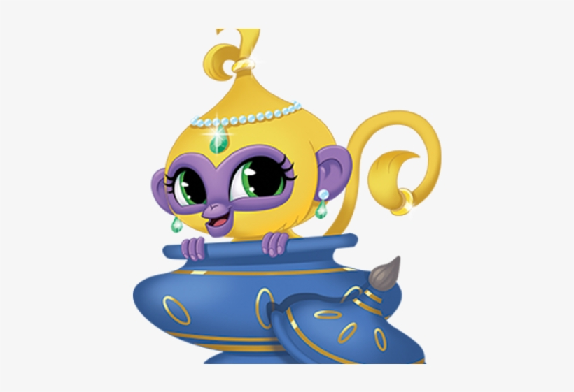 Shimmer And Shine Characters Png Transparent PNG.