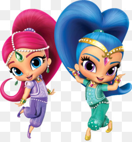 Shimmer And Shine PNG.