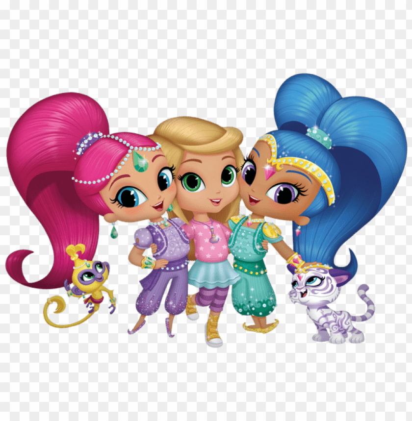 Download shimmer and shine clipart png photo.