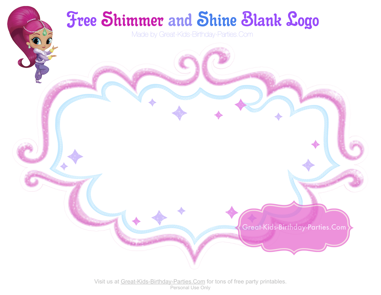 Shimmer and Shine Party in 2019.