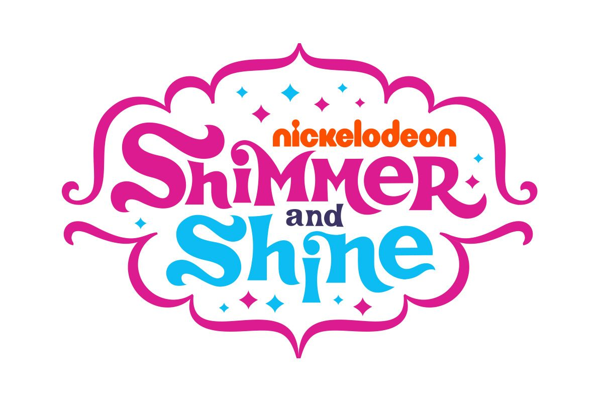 Nickelodeon: Shimmer and Shine, logo by Slagle Design.