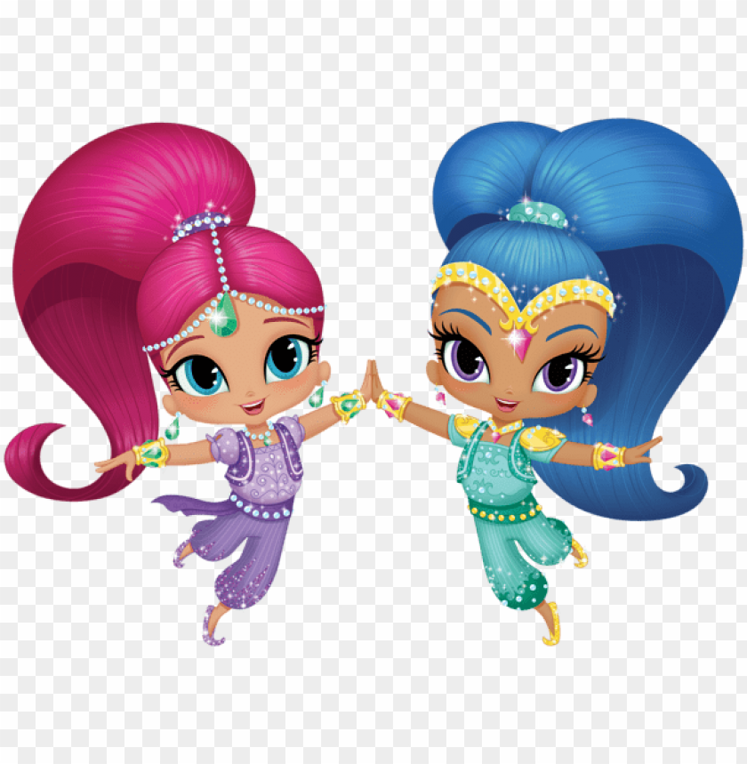 Download shimmer and shine transparent clipart png photo.