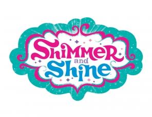 Shimmer and shine Logos.