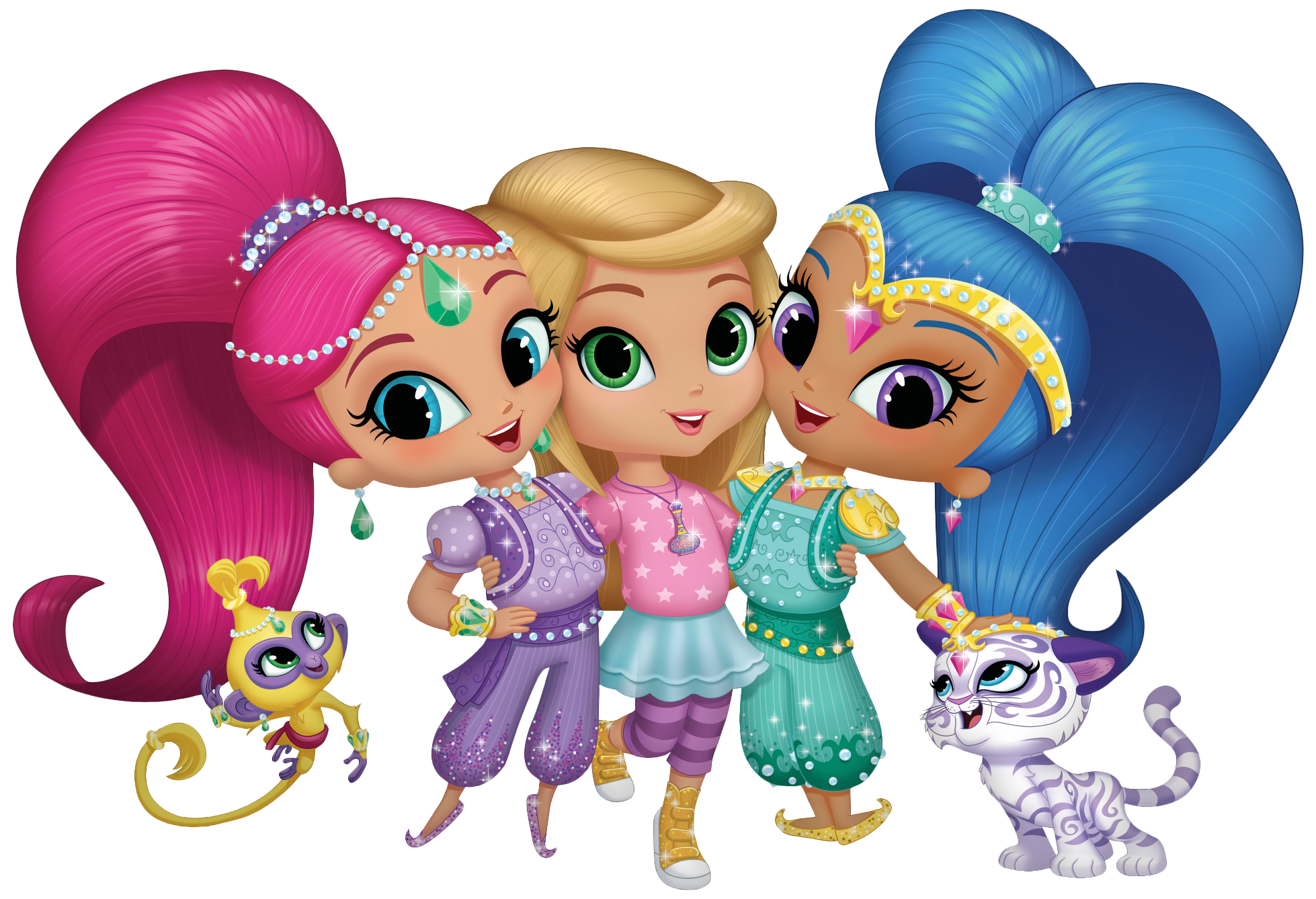 Shimmer and Shine Transparent PNG Image.