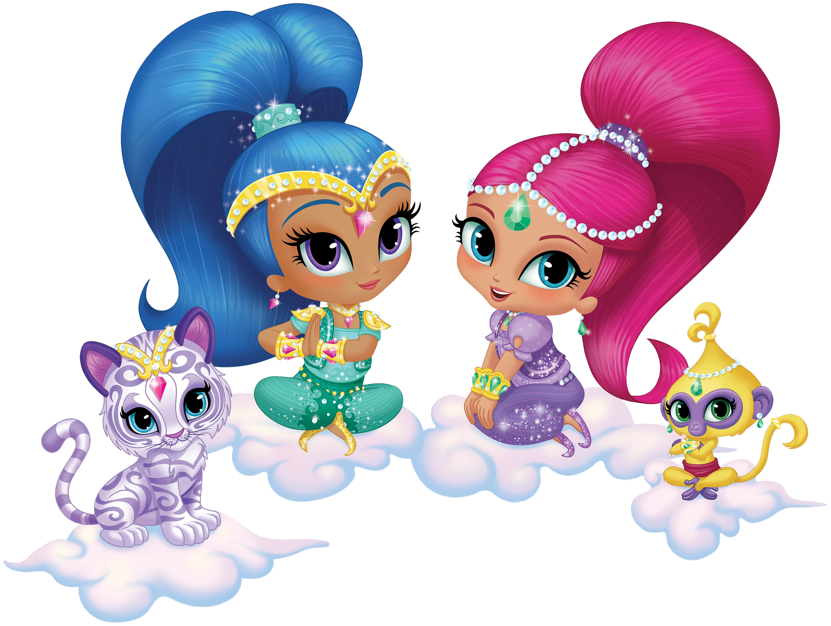 Shimmer And Shine Png (+).