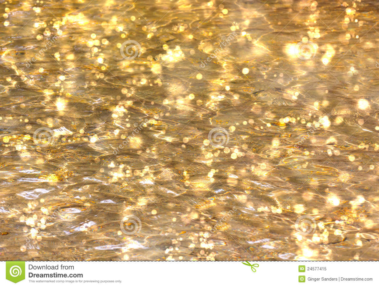 Shimmering Water Background Royalty Free Stock Photography.
