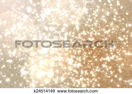 Stock Illustration of Shimmering light design on cream k24514149.