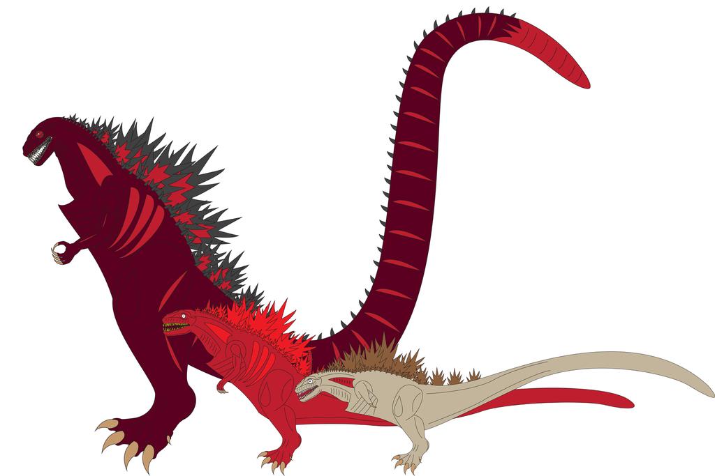 Shin Godzilla Hybrid (Spoiler Alert) by Daizua123 on DeviantArt.