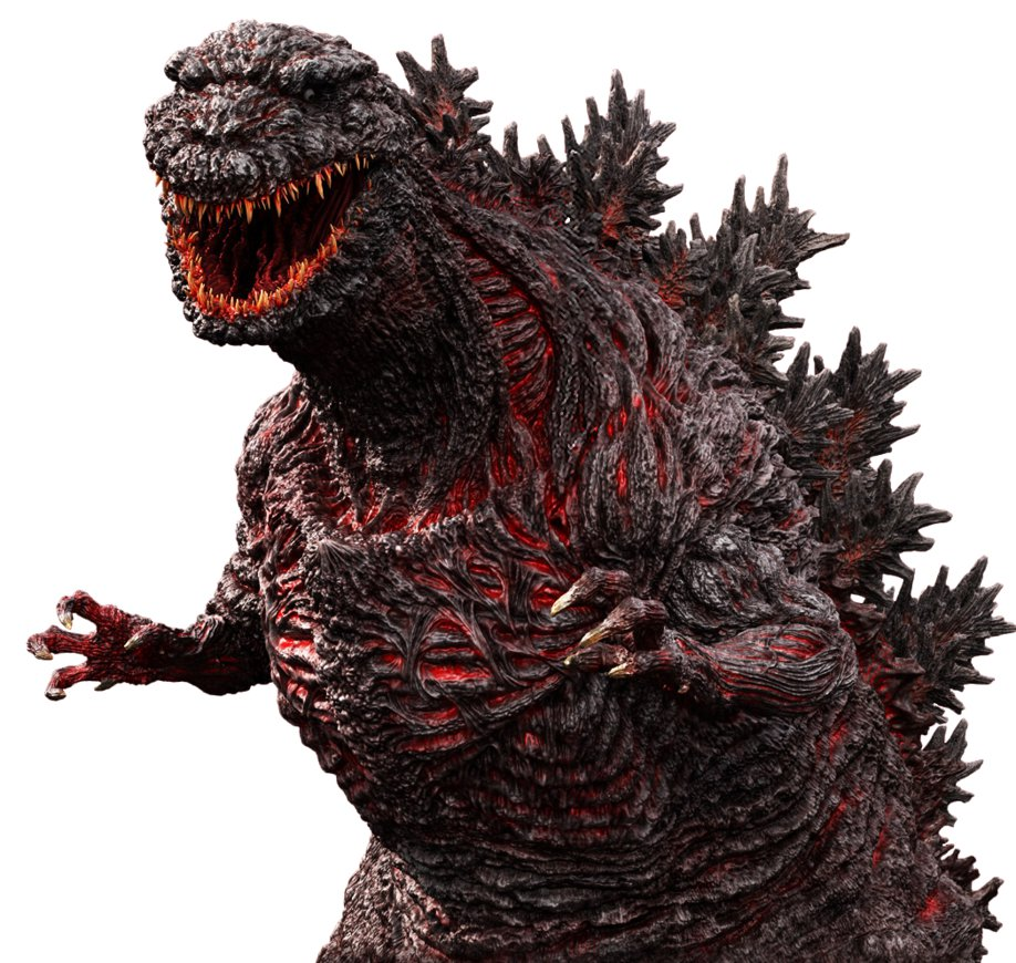 I know there are some people who hate Shin Godzilla's design and.