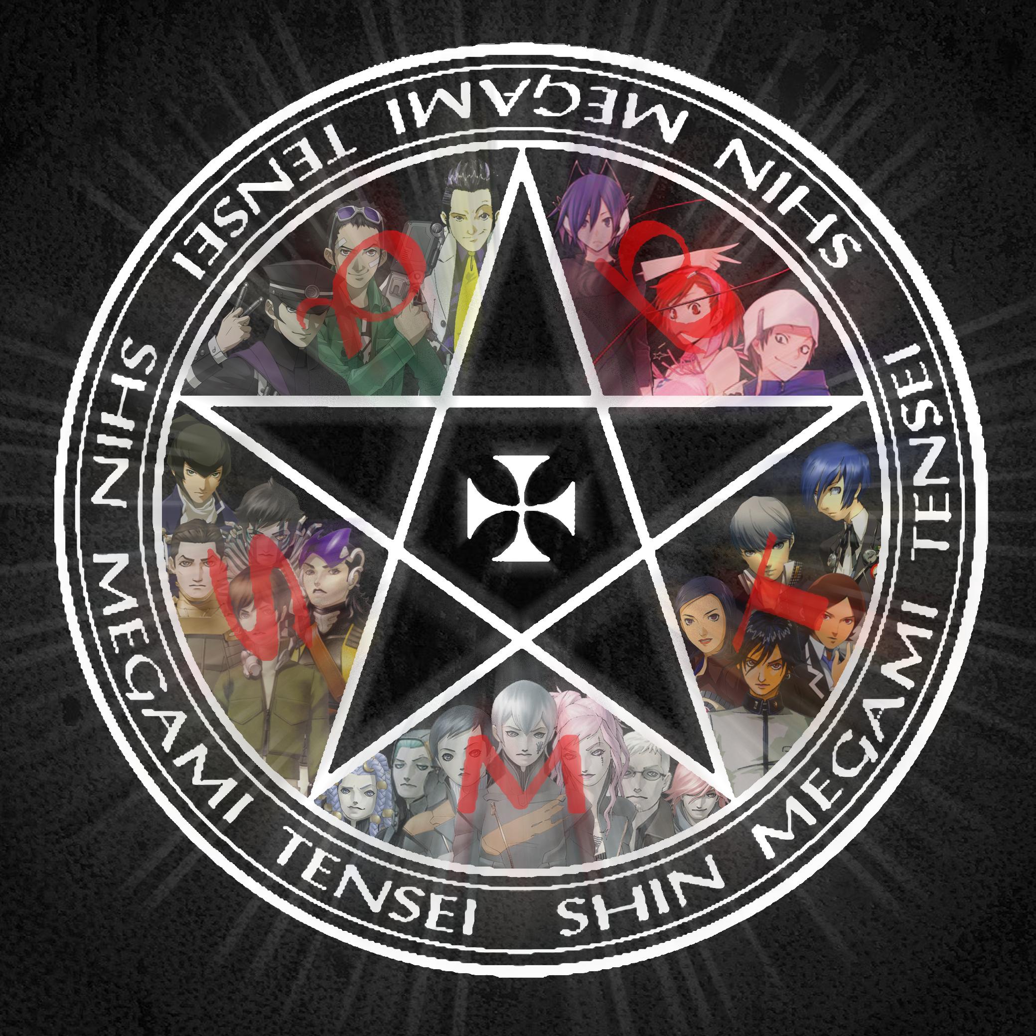 Shin Megami Tensei Series Logo.