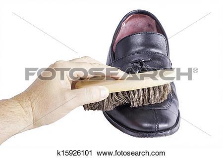 Stock Photography of Shoe Brush Shine k15926101.