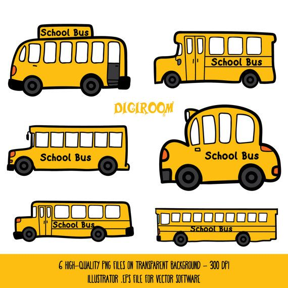 78 Best ideas about School Bus Clipart on Pinterest.