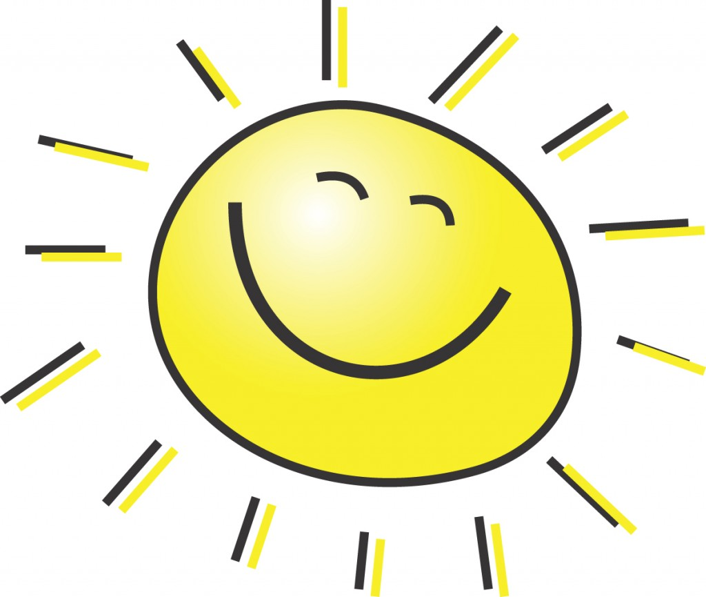 Best Sun Shining Clipart #18.