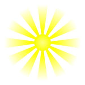 Sun shine clip art.