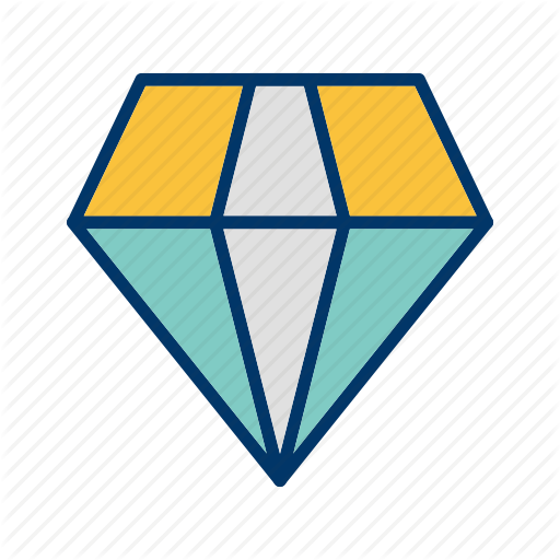 Crystal, diamond, gem, jewel, ring, shine, stone icon.