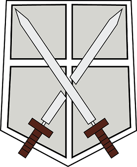 The Logos and Emblems of Shingeki no Kyojin.