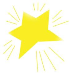 Shining Star Clip Art.