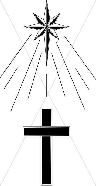 Cross Under Shining Star.