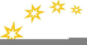 Shining Star Clipart Free.