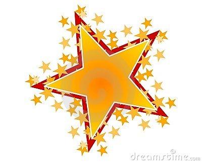 Shining Stars Clipart.
