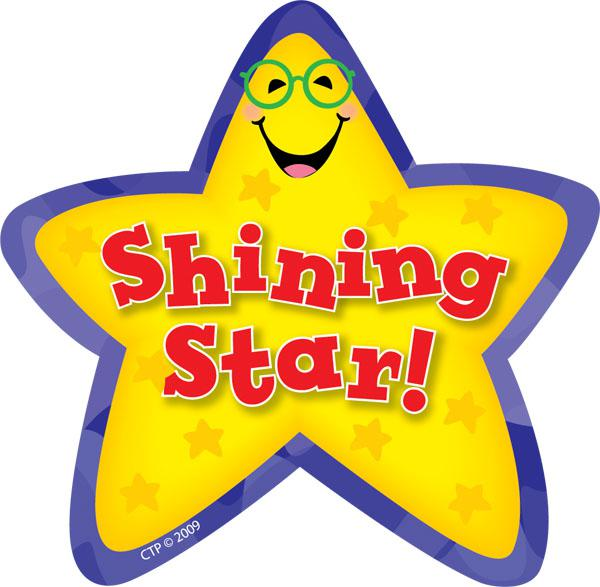 Shining Star Cliparts.