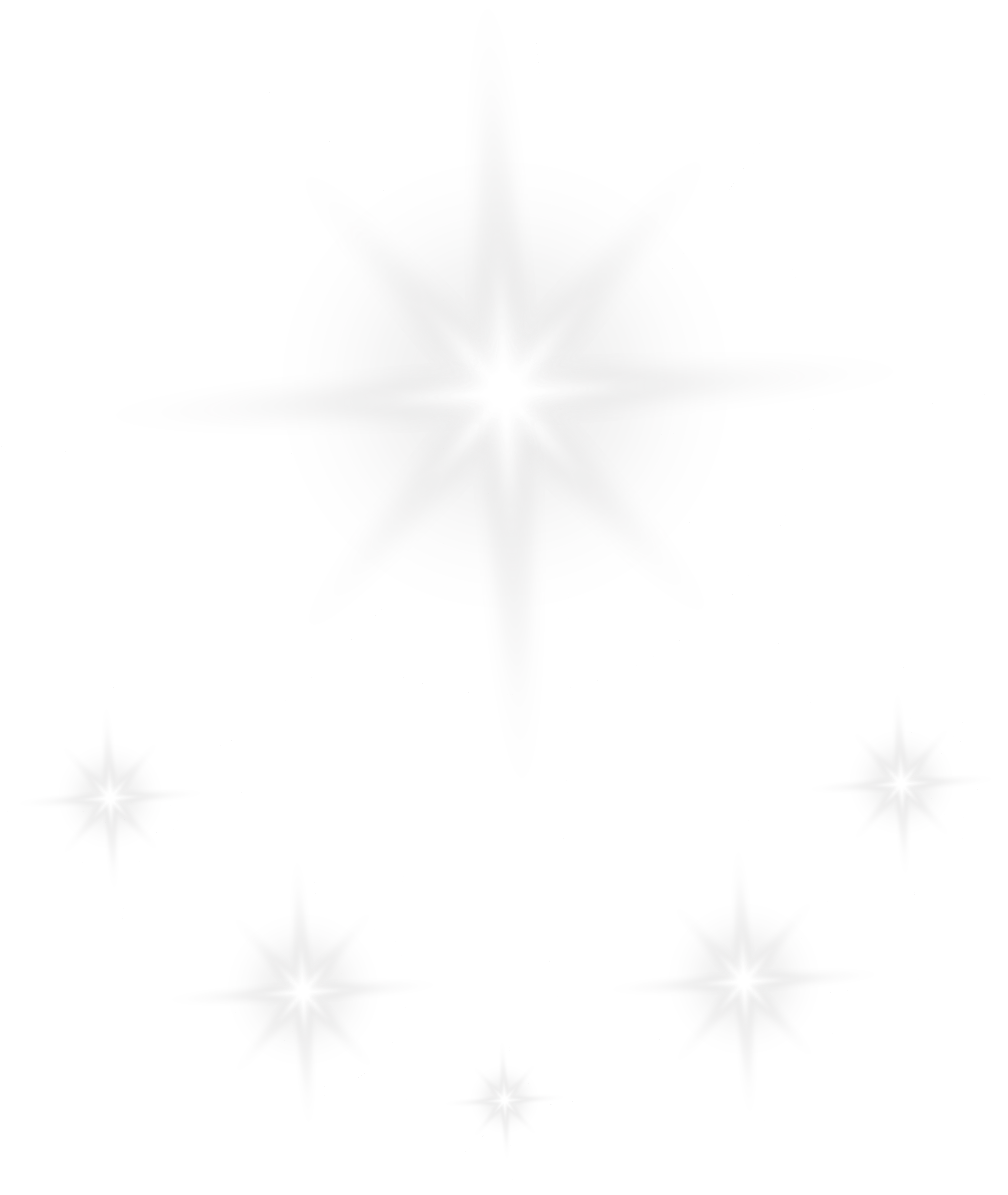 Shining Stars Effect Transparent PNG Clip Art Image.