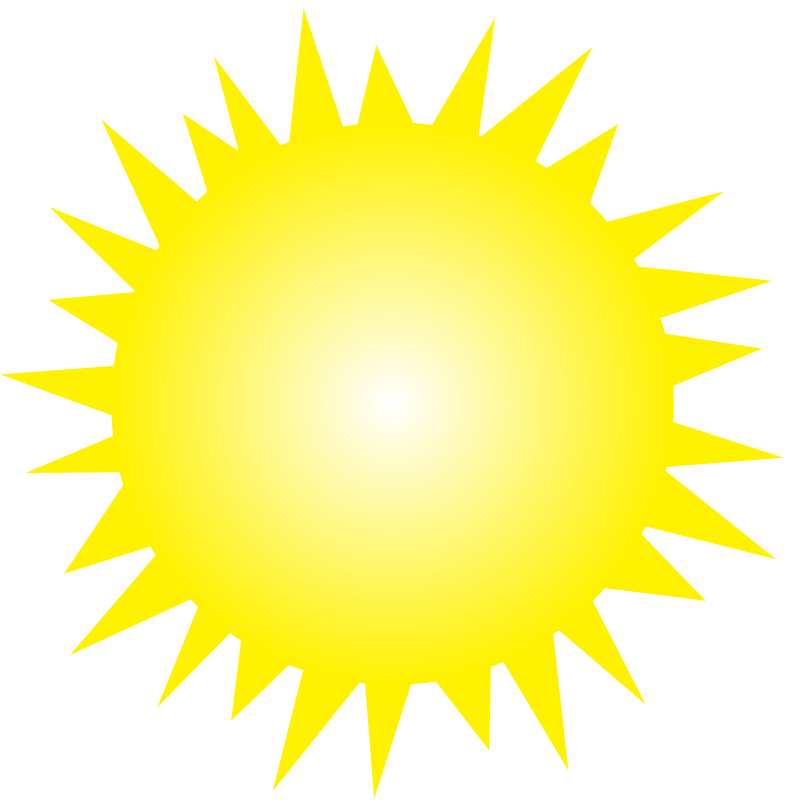Free Clipart: Shining Sun.