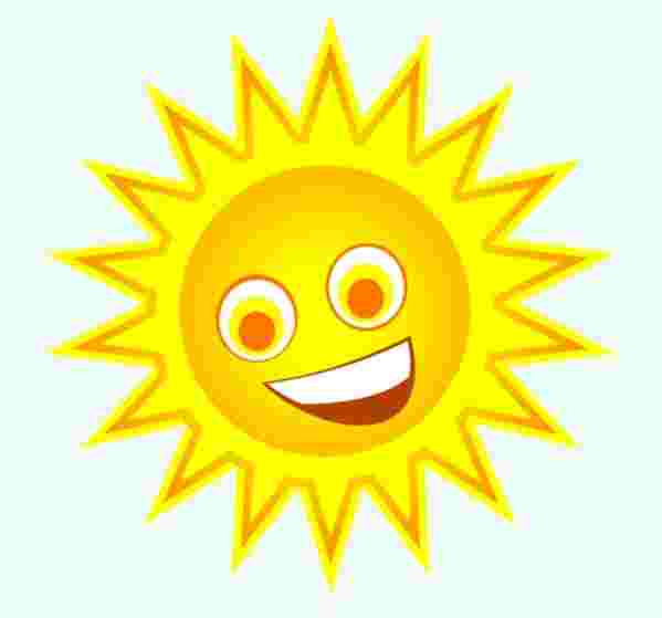 Cliparts Library: Bemused Clipart Sun Onlinelabels Clip Art.