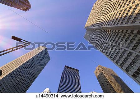 Stock Photo of Shinjuku high.