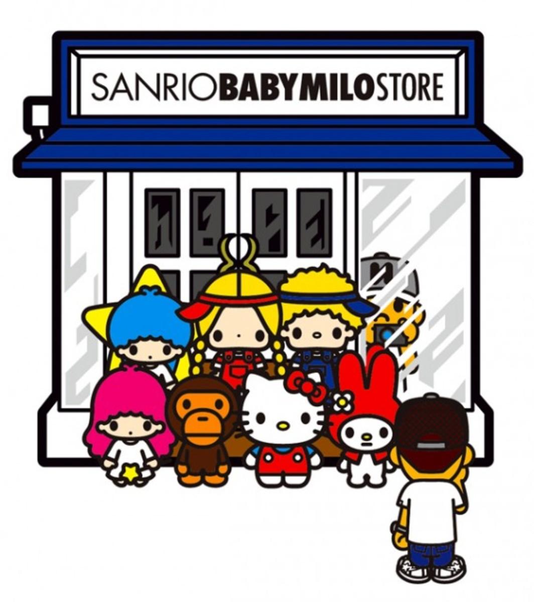 Sanrio Baby Milo Store Preview.