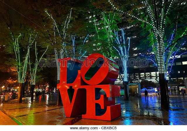Love Sculpture Indiana Stock Photos & Love Sculpture Indiana Stock.