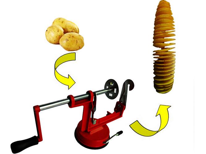 Spiral Potato Slicer.