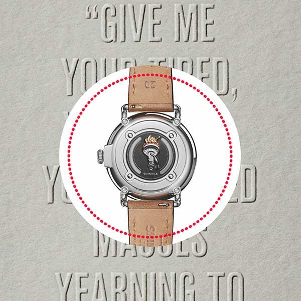 Shinola\'s New Timepiece Celebrates an American Icon.