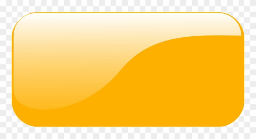 Rectangular Button Gui Orange Glossy Shiny Glassy.