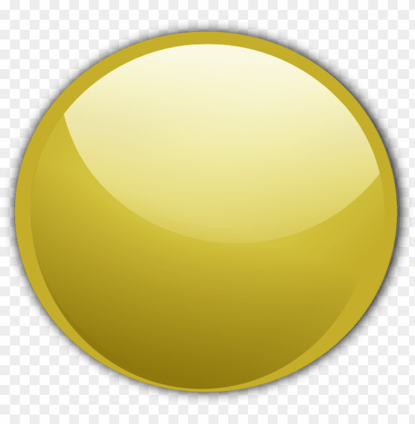 gold shiny button png PNG image with transparent background.