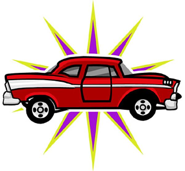 Shiny Car Clipart.