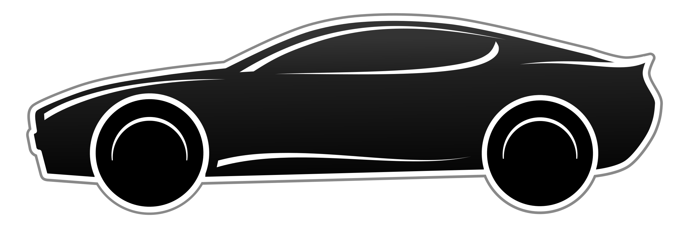 Fast Car PNG Black And White Transparent Fast Car Black And.